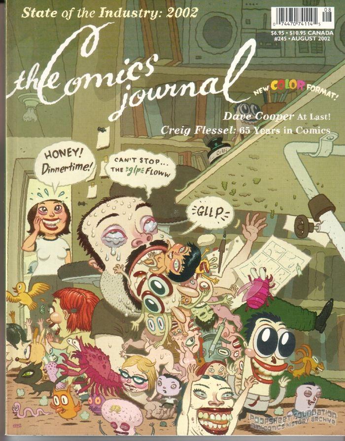 Comics Journal, The #245