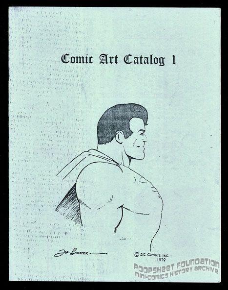 Comic Art Catalog 1