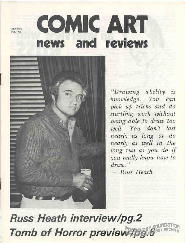 Comic Art News and Reviews #14
