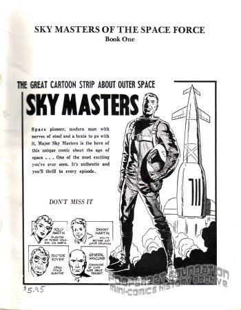 Comic Art Showcase #1: Sky Masters Book One