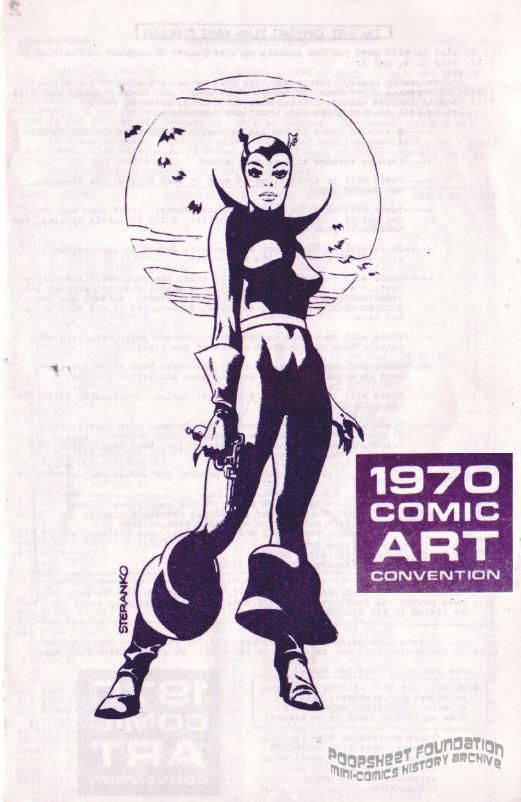 1970 Comic Art Convention flyer
