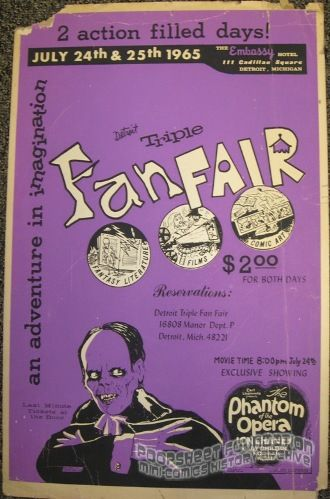 Detroit Triple Fan Fair (1965) poster