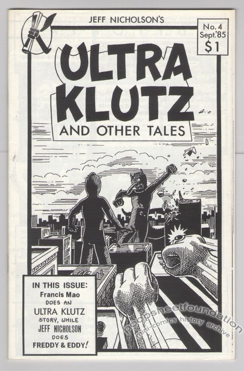 Ultra Klutz and Other Tales #4