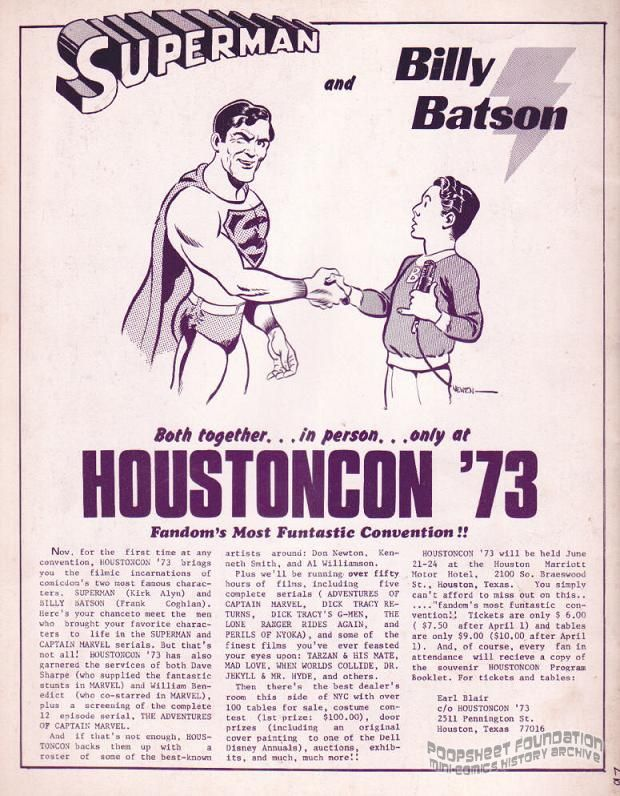 Houstoncon '73 flyer