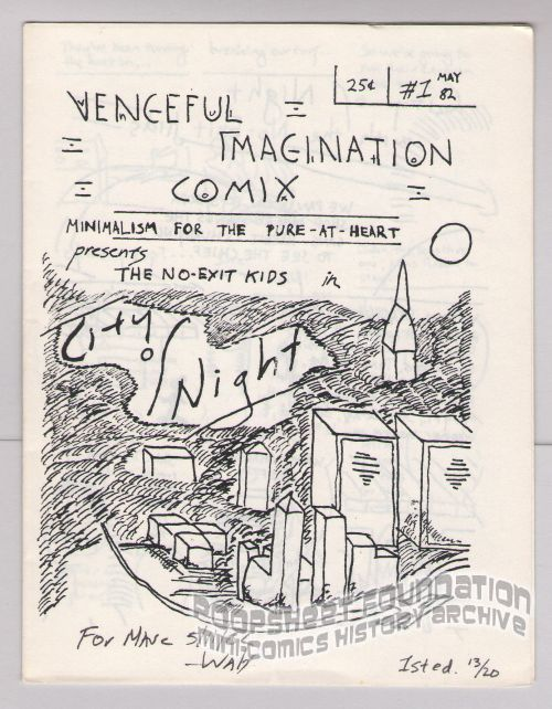 Vengeful Imagination Comix #1