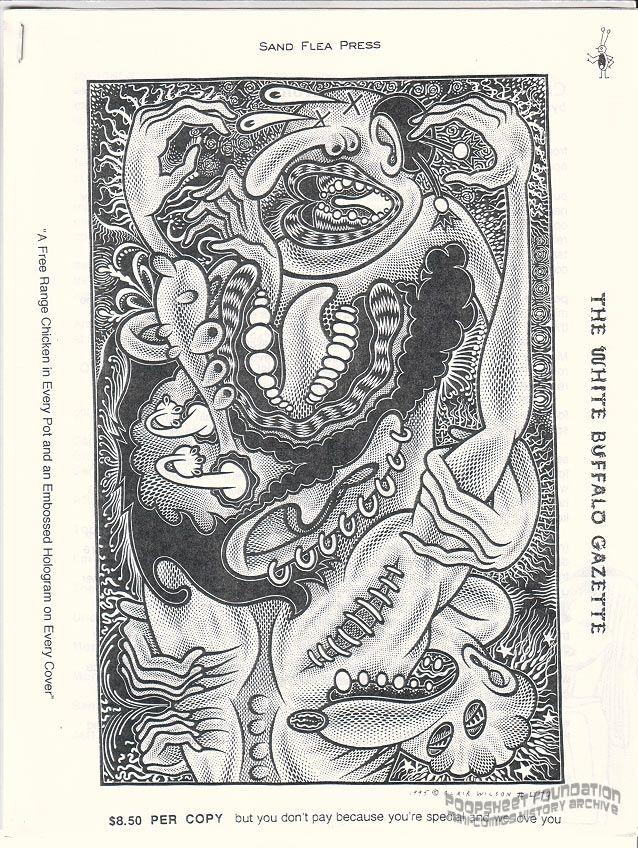 White Buffalo Gazette Vol. Harris Optirator, #Female Escutcheon (January 1997)