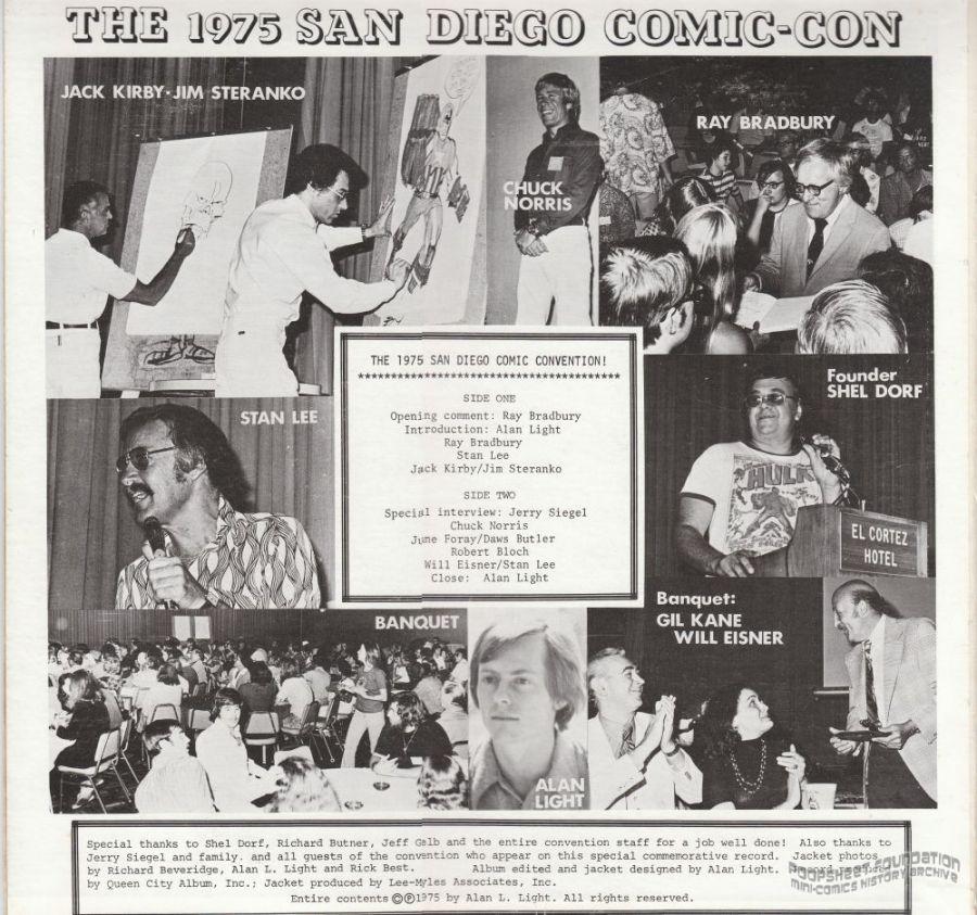 1975 San Diego Comic-Con, The (album)