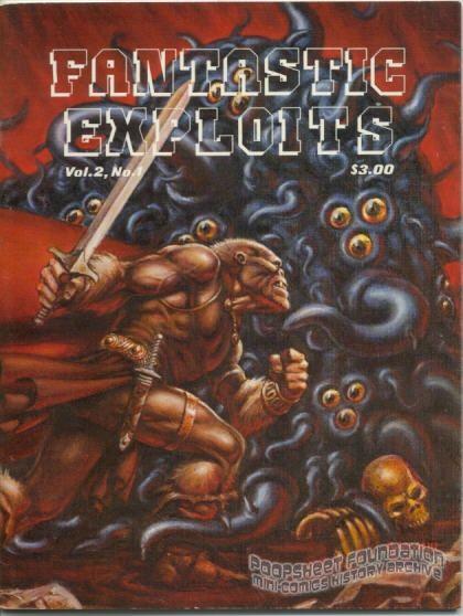 Fantastic Exploits Vol. 2, #1