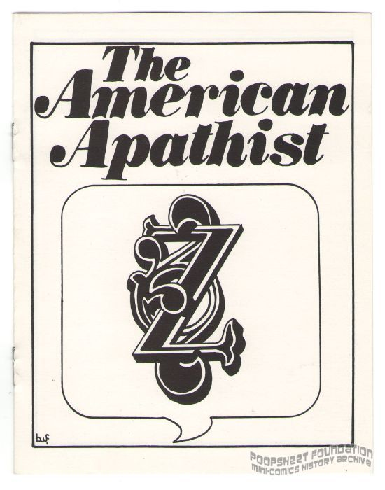 American Apathist, The
