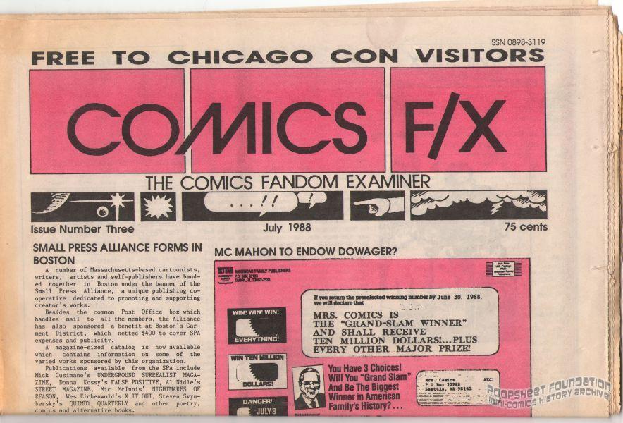 Comics F/X #03