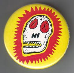 Andy Nukes skull button