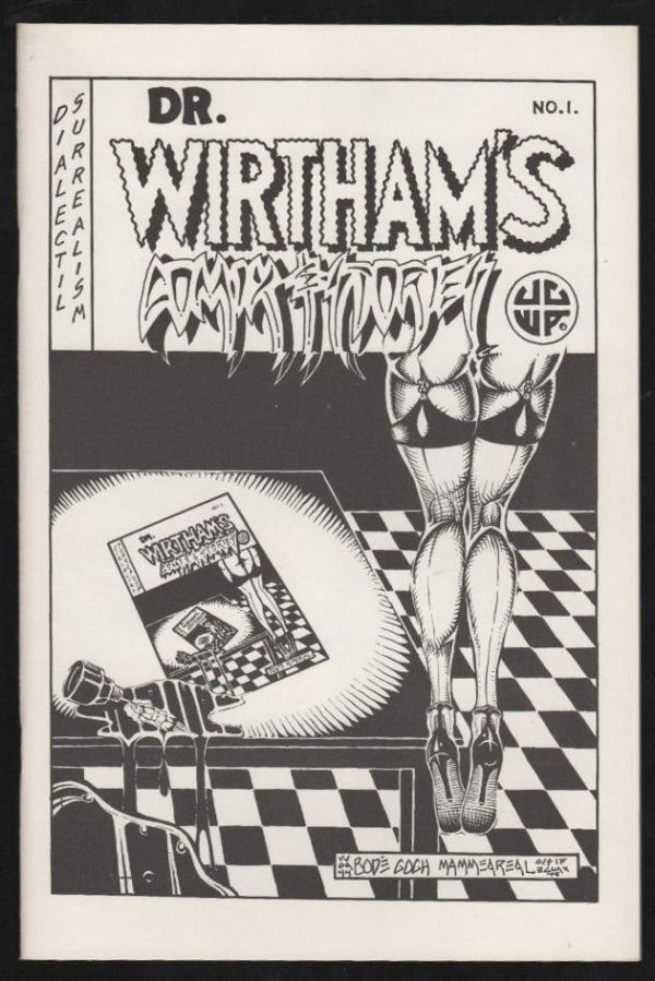 Dr. Wirtham's Comix & Stories #1