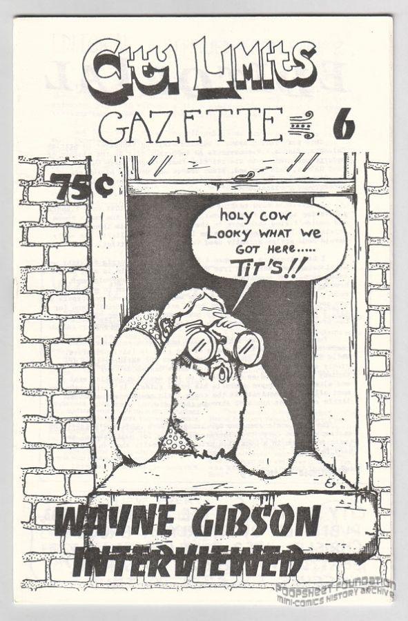 City Limits Gazette #06 (Chrislip)