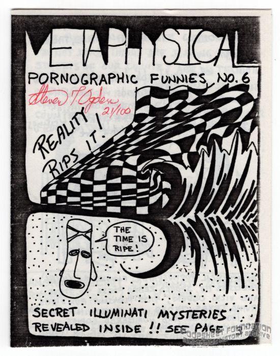 Metaphysical Pornographic Funnies #6