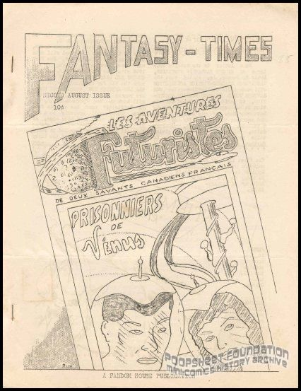 Fantasy Times #?? (August 1949)