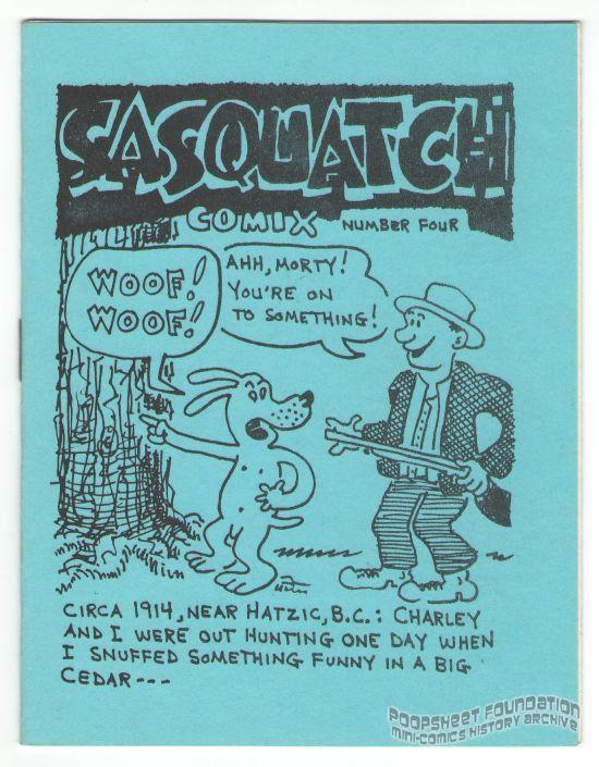 Sasquatch Comix #4 (1st printing)