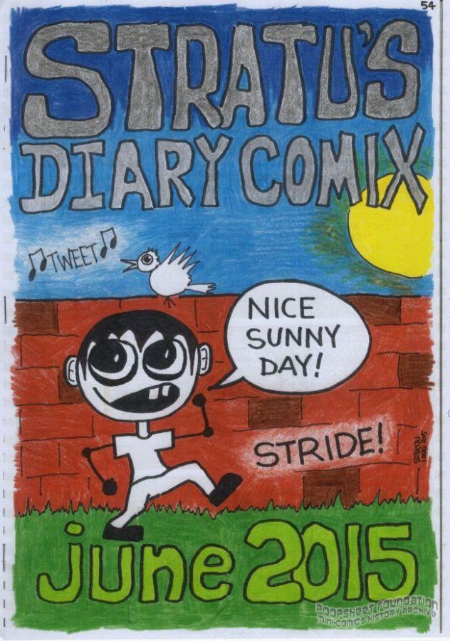 Stratu's Diary Comix June 2015