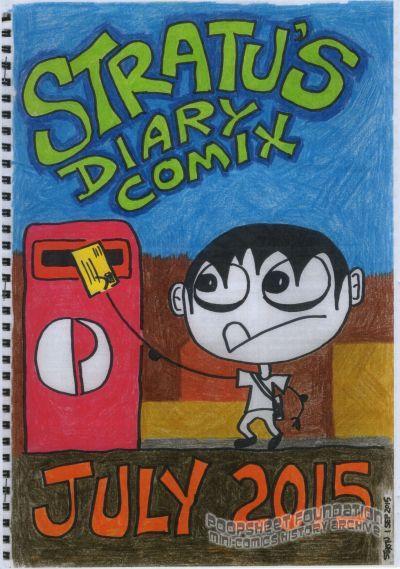Stratu's Diary Comix July 2015