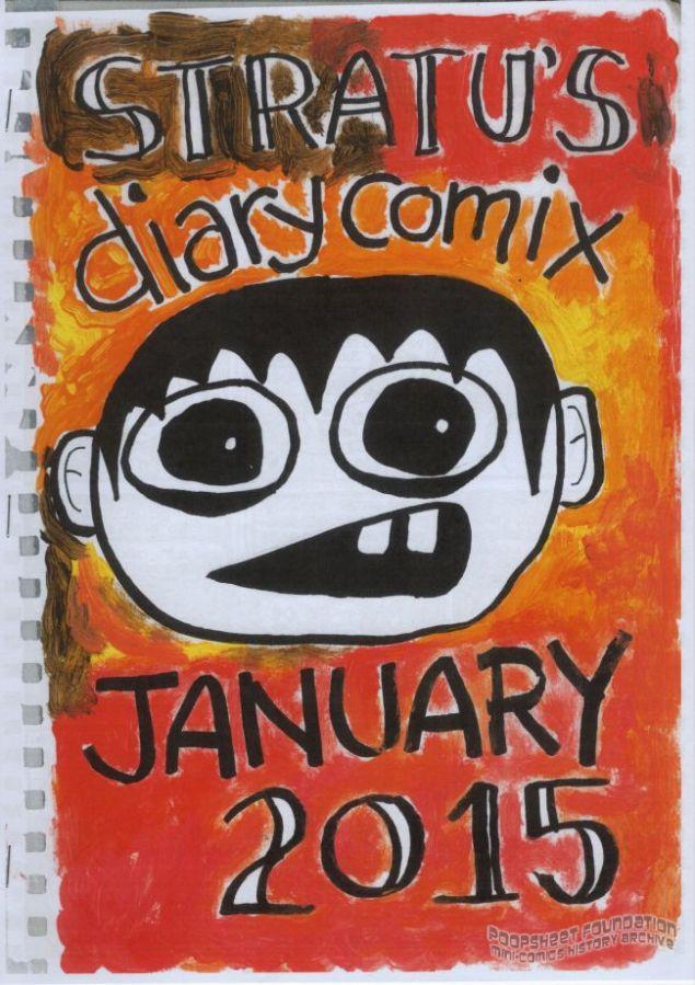 Stratu's Diary Comix January 2015