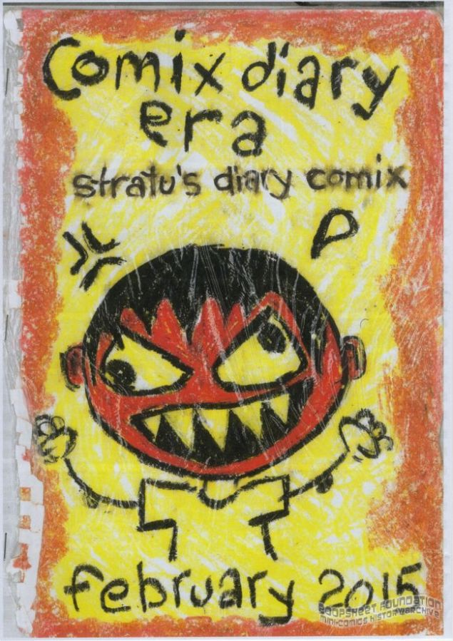 Stratu's Diary Comix February 2015