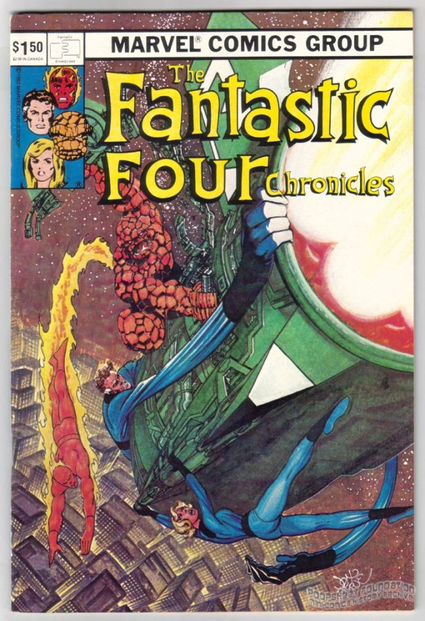 FantaCo's Chronicles #2: Fantastic Four