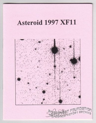 Asteroid 1997 XF11 (Danger Room)