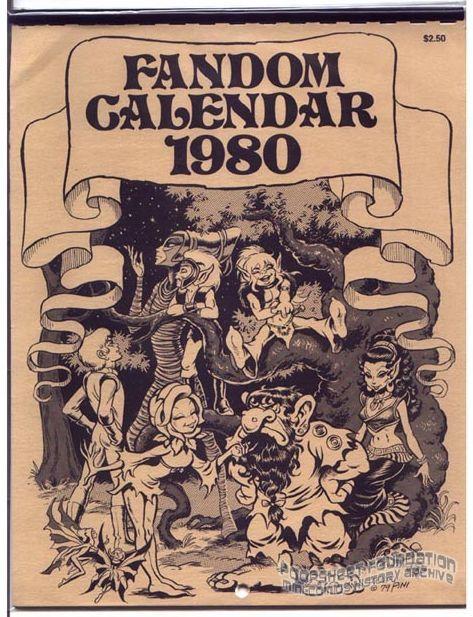 Fandom Calendar 1980