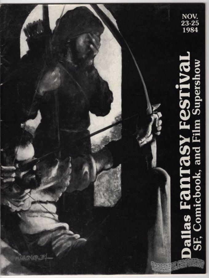 Dallas Fantasy Festival November 23-25, 1984 program