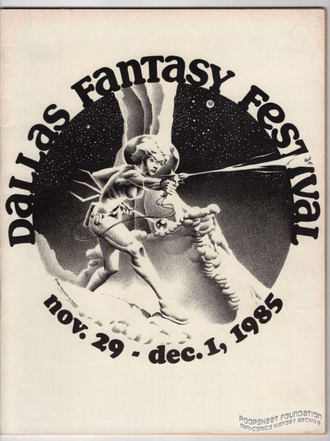 Dallas Fantasy Festival November 29-December 1, 1985 program