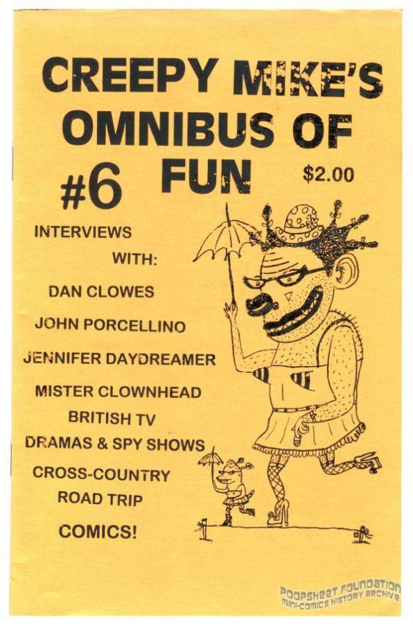 Creepy Mike's Omnibus of Fun #6