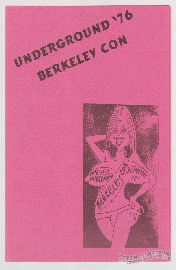 Berkeley Con Underground '76 promo flyer