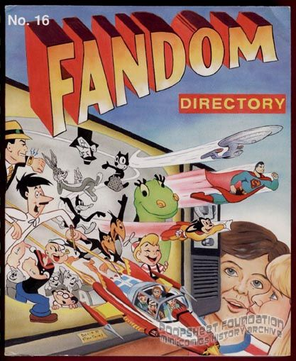 Fandom Directory #16 (1996)