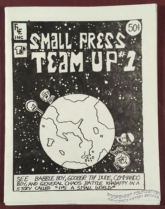 Small Press Team-Up #1