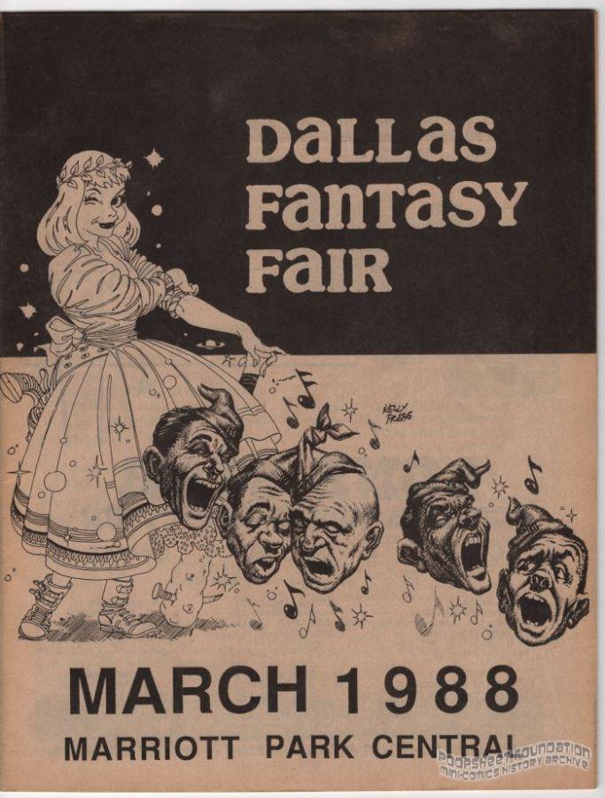 Dallas Fantasy Fair March 11-13, 1988 program