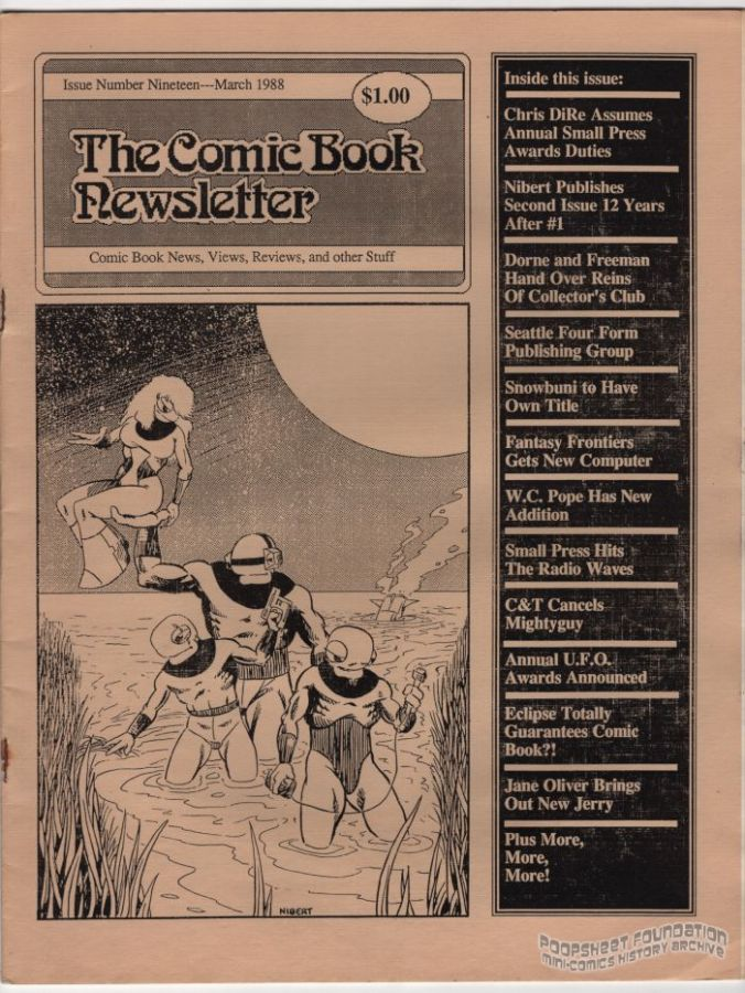 Comic Book Newsletter, The #19