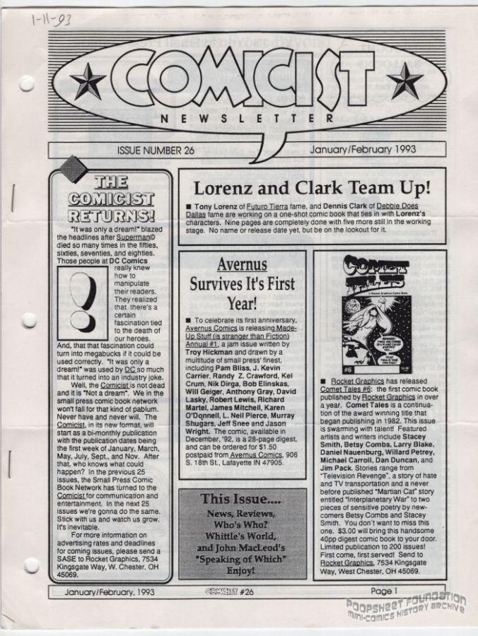 Comicist, The #26