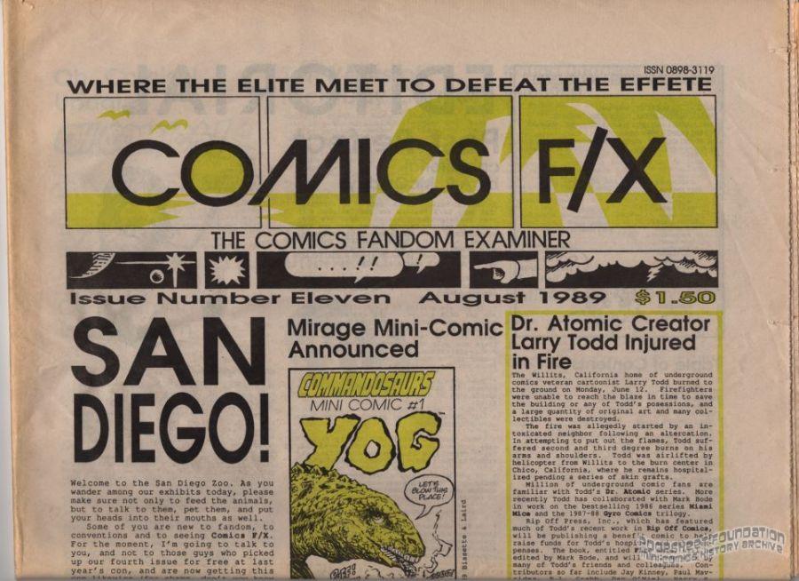 Comics F/X #11