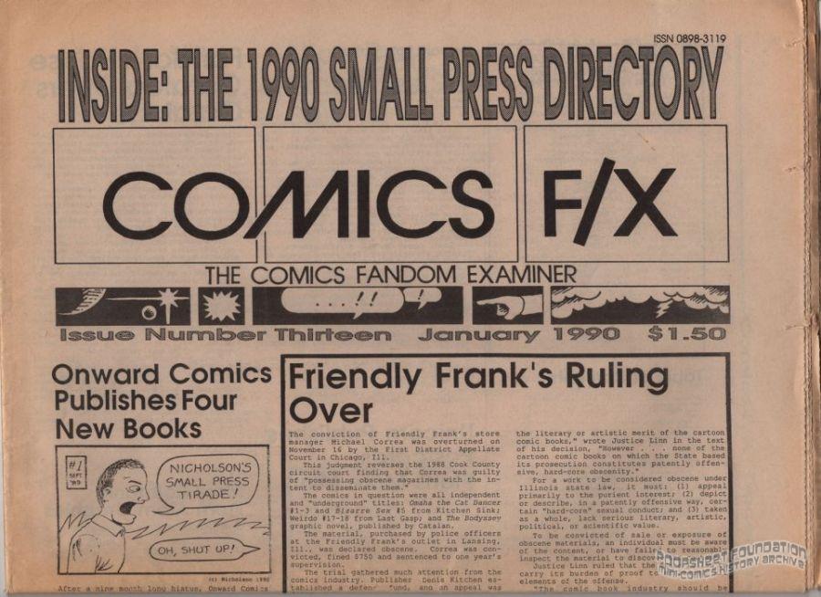 Comics F/X #13