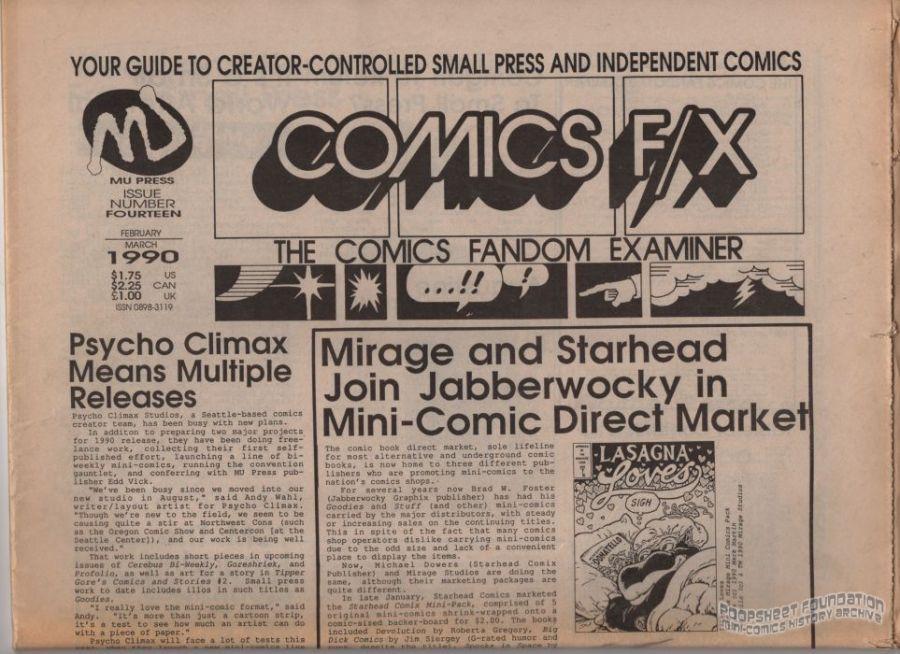 Comics F/X #14