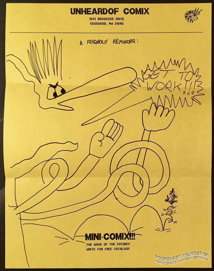 Unheardof Comix letterhead