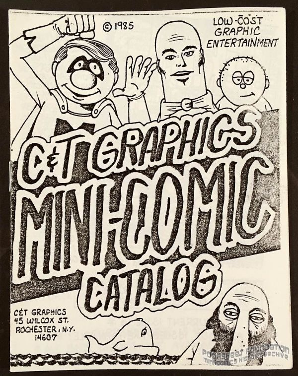 C&T Graphics Mini-Comic Catalog