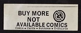 Buy More Not Available Comics sticker