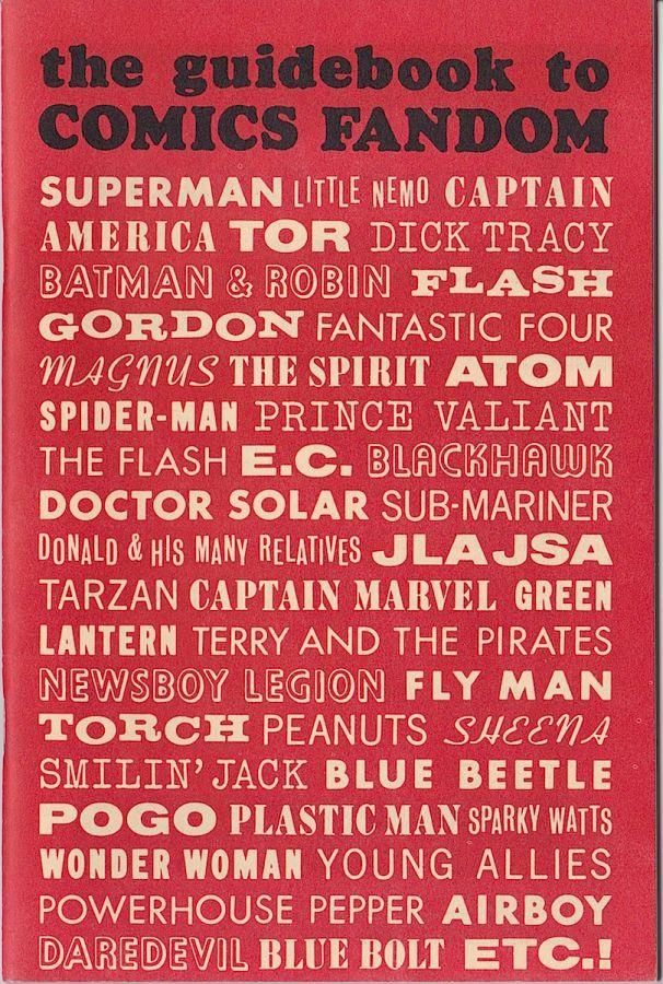 Guidebook to Comics Fandom, The