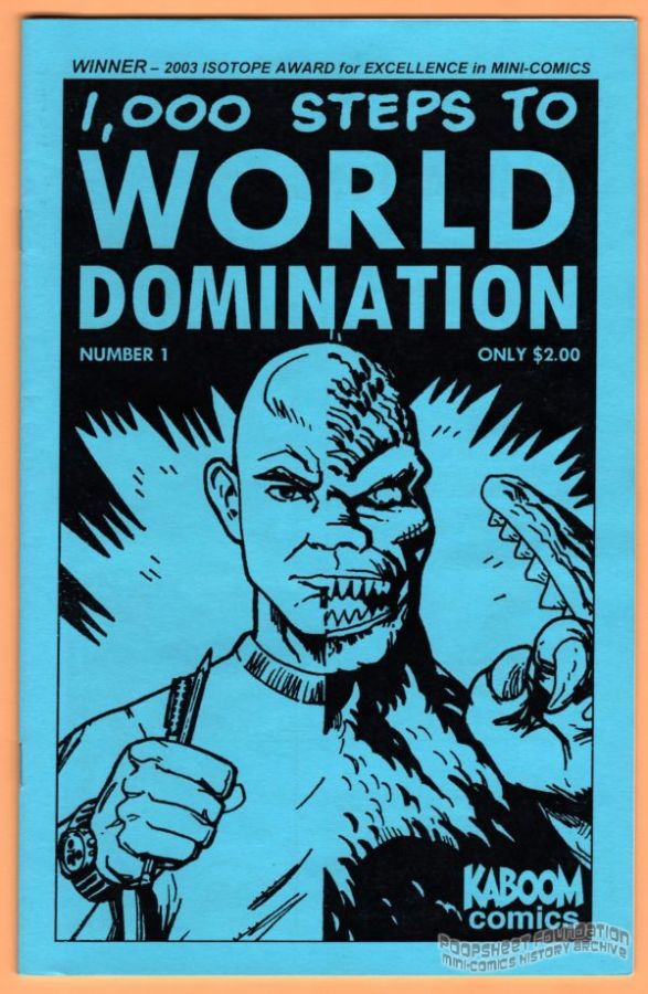 1,000 Steps to World Domination #1