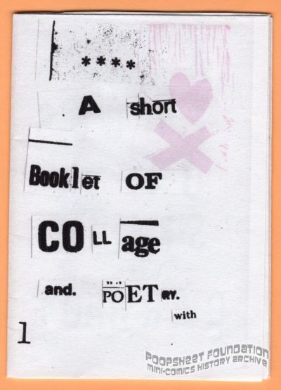 Short Booklet of Collage and Poetry, A