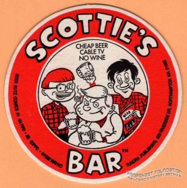 Scottie's Bar coaster