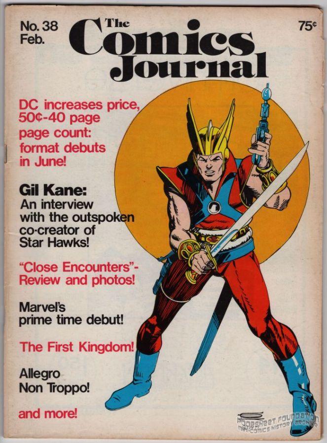 Comics Journal, The #038