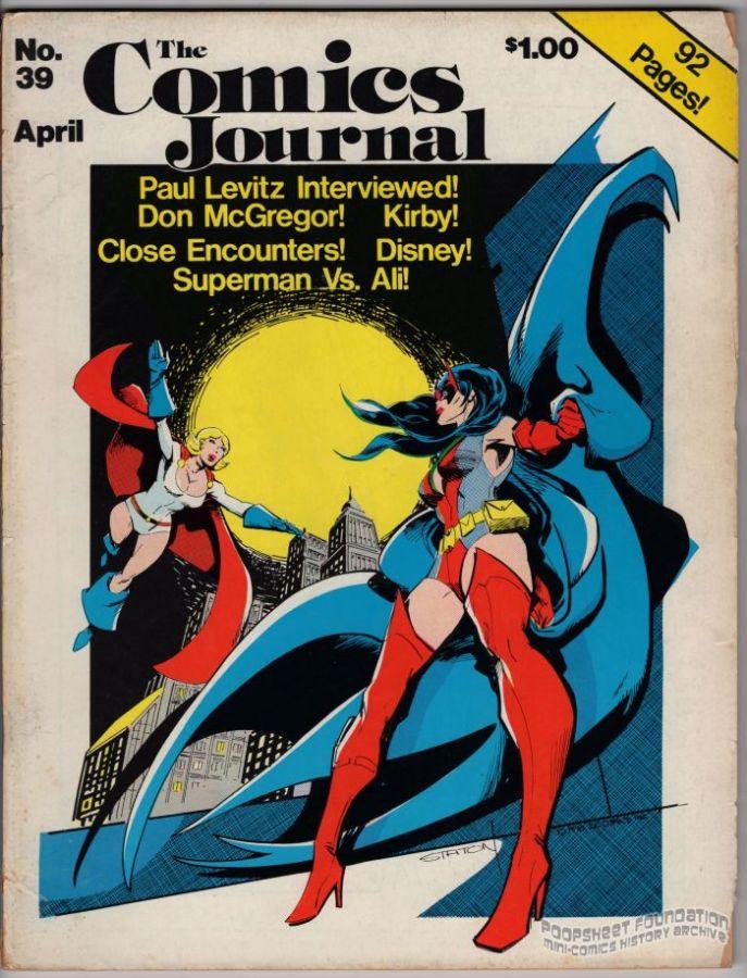 Comics Journal, The #039