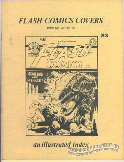 Flash Comics Covers: Issues No. 62 Thru 104