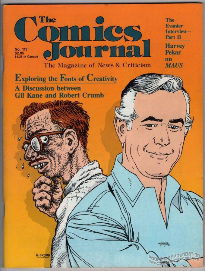 Comics Journal, The #113